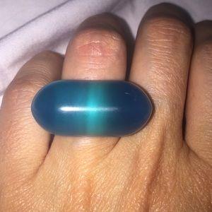 Vintage Plastic Mod Ring